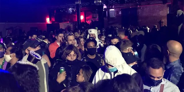 NYC deputies busted up a warehouse party in Brooklyn with 400 attendees packed shoulder-to-shoulder.
