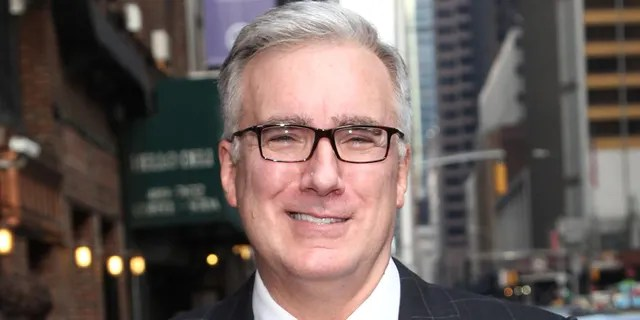 """Far-left pundit Keith Olbermann shocked Twitter on Tuesday by comparing Trump to """"Kunta Kinte,"""" a fictional slave from the 1976 novel and 1977 TV miniseries """"Roots."""" (Photo by Taylor Hill/FilmMagic)"""