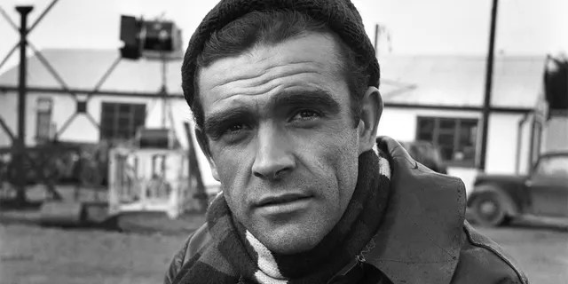 """Sean Connery on the set of the film """"Action of the Tiger"""". November 1956. The Scottish star reportedly died overnight in the Bahamas, his family said on Saturday. He was 90."""