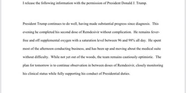 President Trump Completes Second Dose Of The Remdesivir Drug; Doc Reports 'Substantial Progress'. 4