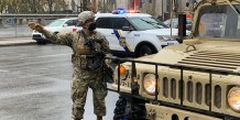 National Guard Arrives In Philadelphia Following Several Days Of Unrest In City, An