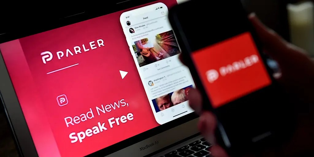 Tech giant Apple may ban Parler  – a platform founded to promote free speech that has a large user base of Trump supporters and conspiracy theorists