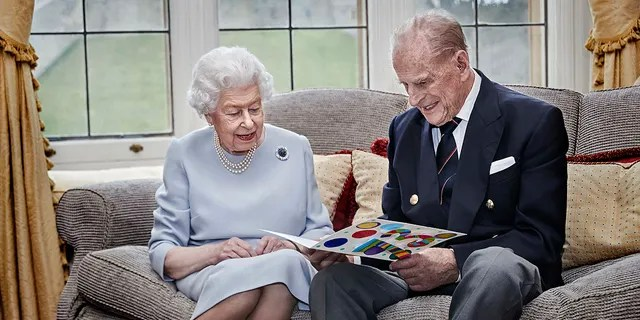 Queen Elizabeth married Prince Philip on Nov. 20, 1947, at Westminster Abbey in London.