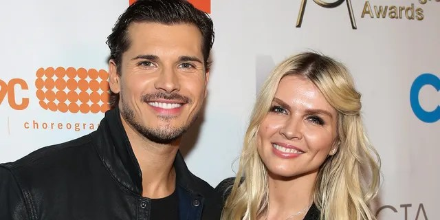Gleb Savchenko and Elena Samodanova are calling it quits after 14 years of marriage. They have two daughters together. (Photo by Paul Archuleta/Getty Images)
