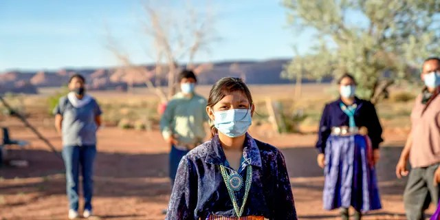 The Navajo Nation is currently spreading