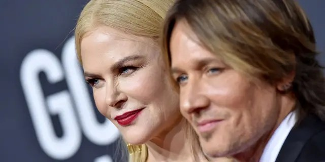 "Nicole Kidman and Keith Urban sang ""I'll Be Your Santa Tonight"" in a Christmas Eve Instagram post. (Axelle/Bauer-Griffin/FilmMagic)"