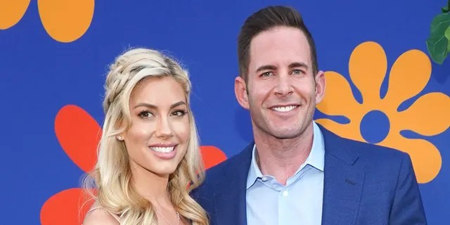 Tarek El Moussa (R) and Heather Rae Young (L) got engaged in July 2020 after dating for one year.