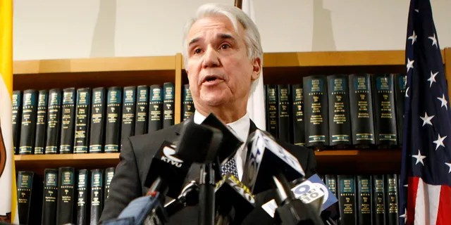 Los Angeles County District Attorney George Gascón is seen March 19, 2012, when he worked in San Francisco. (Reuters)