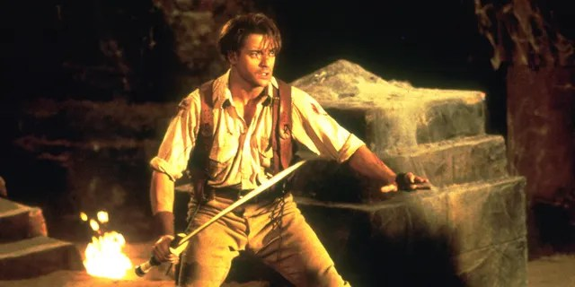 Brendan Fraser previously told GQ that years of taking on his own stunts took a physical toll on his body.