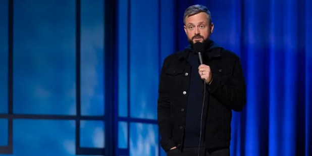 Nate Bargatze's latest comedy special hits Netflix in March 2021.