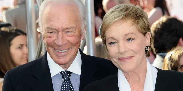 Christopher Plummer and actress Julie Andrews attend the opening night gala premiere of the 2015 TCM Classic Film Festival for the 50th anniversary
