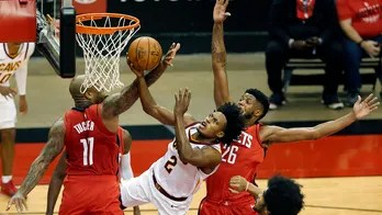 Cavs get 101-90 win to hand Houston 12th straight loss