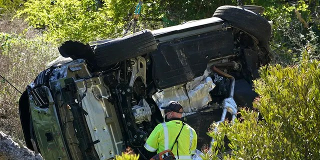 Tiger Woods was in a rollover accident earlier this year in Rancho Palos Verdes, Calif., a suburb of Los Angeles.