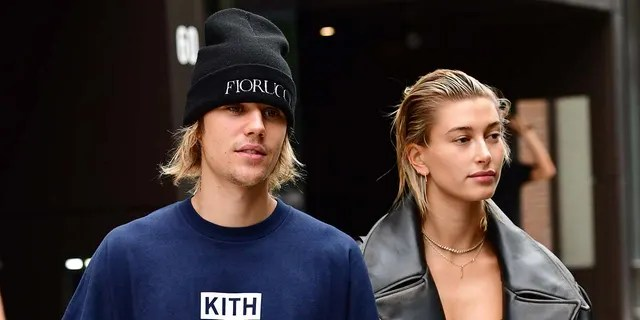 Justin Bieber psoted a photo referring to himself and Hailey Baldwin as 'mom and dad,' but Baldwin clarified that they are only parents to a pet dog. (Photo by James Devaney/GC Images)
