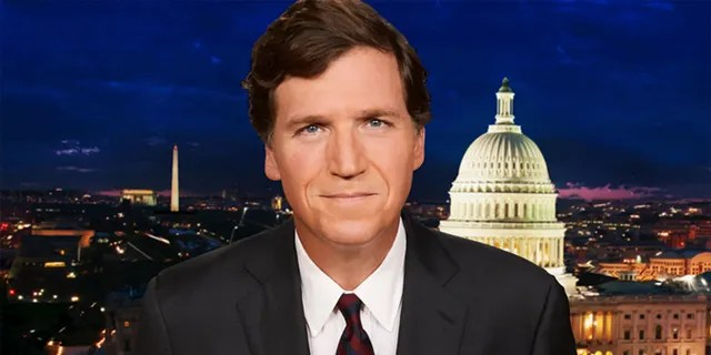"""Tucker Carlson says high-powered executives running Simon & Schuster can't stand him or his latest book, """"The Long Slide."""""""