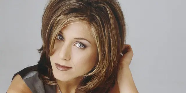 """Jennifer Aniston's """"Friends"""" character Rachel Green inspired many women to get a choppy bob haircut. (Photo by NBCU Photo Bank/NBCUniversal via Getty Images via Getty Images)"""