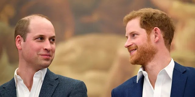 Prince William, left, and Prince Harry are set to reunite this summer. (Getty Images)