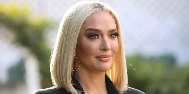Erika Jayne moved out of her home one day after dropping her husband off at work.