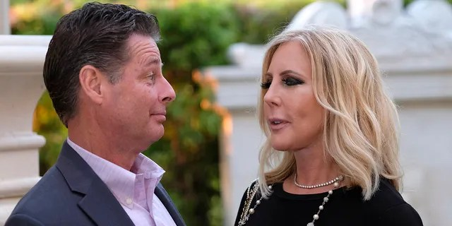 """Steve Lodge and Vicki Gunvalson appear on an episode of """"The Real Housewives of Orange County."""""""