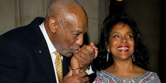 Comedian Bill Cosby (L) and actress Phylicia Rashad attend the 2nd annual Legacy to Promise Gala at The Riverside Theatre on September 26, 2011 in New York City.