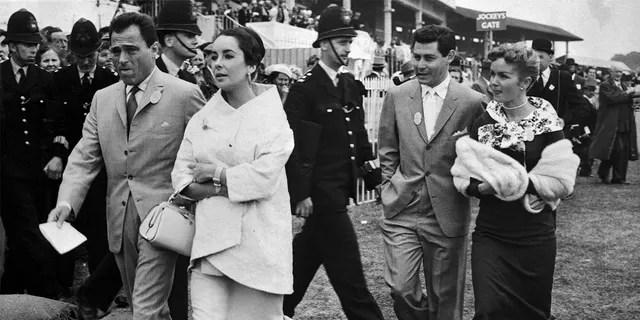 From left: Mike Todd, Elizabeth Taylor, Eddie Fisher and Debbie Reynolds.