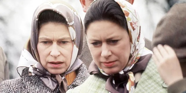 Queen Elizabeth II (left) and Princess Margaret remained close over the years.