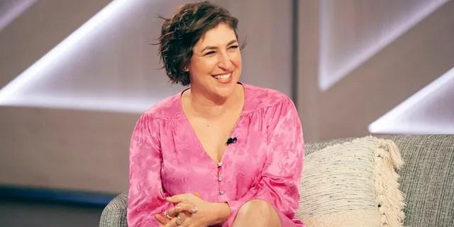 Mayim Bialik began her guest-hosting gig on 'Jeopardy!' this week.