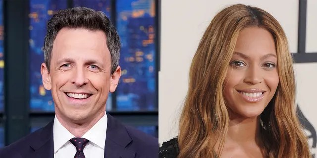 """Seth Meyers had an awkward exchange with Beyonce at a """"Saturday Night Live"""" party."""