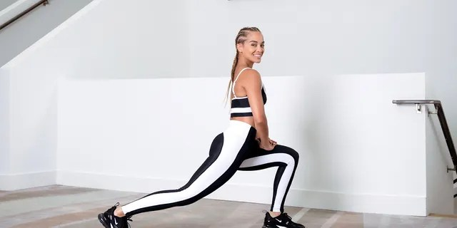 Jasmine Sanders said it's important to carve out extra time each day to do a fun workout.