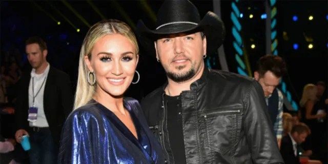 Jason Aldean says he'll 'never apologize' for his beliefs after his wife, Brittany, was criticized for donning their kids in anti-Biden merch.