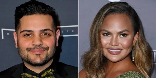 Designer Michael Costello responded to Chrissy Teigen's claims bullying DMs are fake.