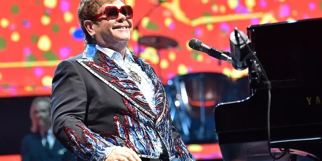 Elton John performs during his Elton John Farewell Yellow Brick Road tour in Rosemont, Ill. on Feb 15, 2019. Elton John has announced the final dates for his farewell tour, which includes stops at big stadiums in the U.S.