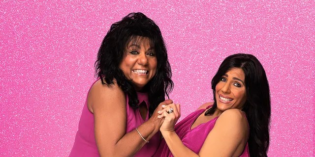 """Mother and daughter duo Kathy (L) and Cristina (R) from """"sMothered."""""""
