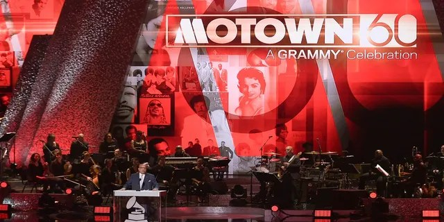 Berry Gordy speaks onstage during Motown 60: A GRAMMY Celebration at the Microsoft Theater in Los Angeles, in February 2019. (Shotwell/Invision/AP)