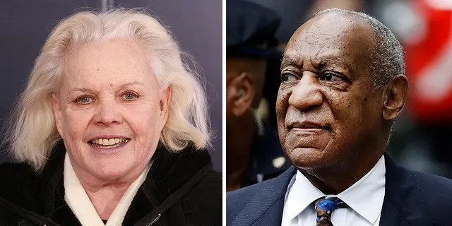 Actress Carroll Baker said one day before Bill Cosby's release from prison that it was 'a sin' the embattled performer was locked up on sexual assault charges.