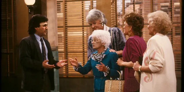 Chick Vennera in 'Golden Girls.' (Photo by Walt Disney Television via Getty Images Photo Archives/Walt Disney Television via Getty Images)