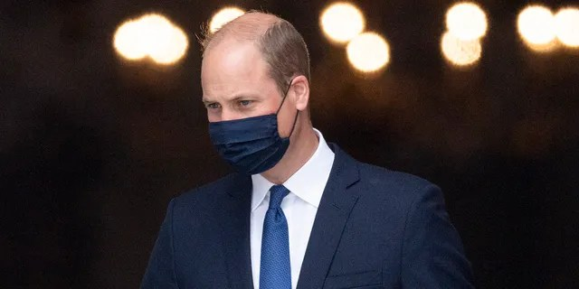 LONDON, ENGLAND - JULY 05: Prince William, Duke of Cambridge celebrates the 73rd anniversary of the NHS at a Service of Thanksgiving at St Pauls Cathedral on July 5, 2021 in London, England. (Photo by Mark Cuthbert/UK Press via Getty Images)