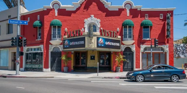 Quentin Tarantino revealed to Dax Shepard that he purchased the Vista Theatre in the Los Feliz neighborhood of Hollywood in Los Angeles, Calif. (AaronP/Bauer-Griffin/GC Images)