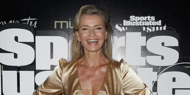 The 56-year-old supermodel posed topless on social media with her friend and actress Liz Carey.