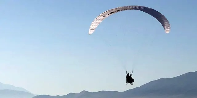 Project Airtime, a adaptive paragliding program, offers free flying sessions to dozens of people in Salt Lake City, Utah.