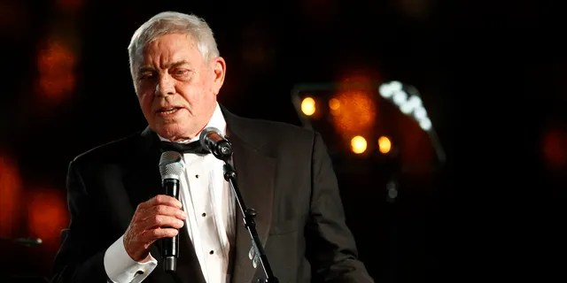 Tom T. Hall accepts the Icon Award at the 60th Annual BMI Country Awards in Nashville, Tenn. in 2012. (Associated Press)