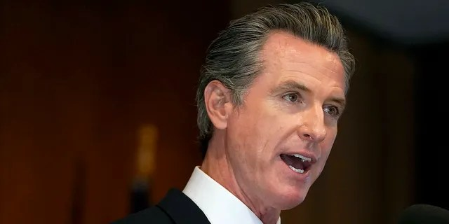 In this Sept. 14, 2021, file photo, California Gov. Gavin Newsom speaks in San Francisco. On Thursday, he signed a series of police reform measures in an effort to increase transparency. (Associated Press)