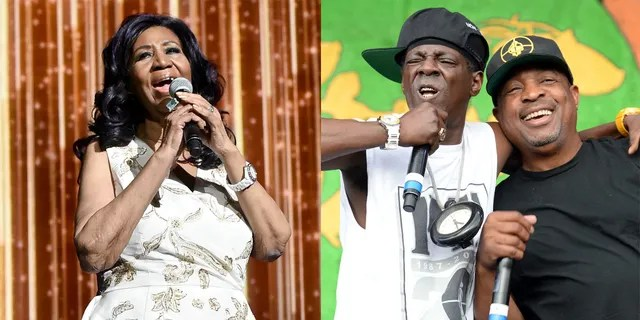 Aretha Franklin and Public Enemy nabbed the top two spots of Rolling Stone's updated list of the 500 greatest songs of all time for 'Respect' and 'Fight the Power,' respectively.