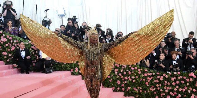 Billy Porter arrives for the 2019 Met Gala while celebrating 'Camp: Notes on Fashion' at the Metropolitan Museum of Art on May 06, 2019 in New York City.