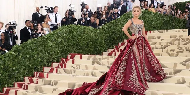 Blake Lively attends 'Heavenly Bodies: Fashion & the Catholic Imagination', the 2018 Costume Institute Benefit at Metropolitan Museum of Art on May 7, 2018 in New York City.