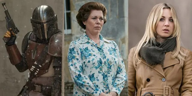 Shows like 'The Mandalorian,' 'The Crown' and 'The Flight Attendant' all earned nominations this year.