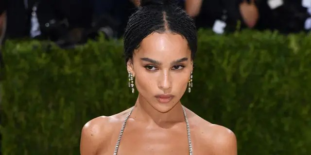 The actress wore a shimmering mesh dress on the Met Gala 2021 red carpet, where she and rumored boyfriend Channing Tatumwalked separately.