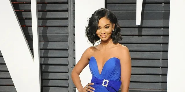 Model Chanel Iman arrives at the 2017 Vanity Fair Oscar Party Hosted By Graydon Carter at Wallis Annenberg Center for the Performing Arts on Feb. 26, 2017 in Beverly Hills, California.
