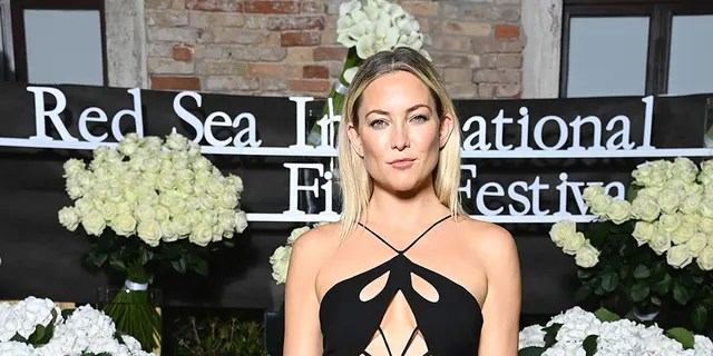Kate Hudson attends the Celebration of Women in Cinema Gala hosted by The Red Sea Film Festival during the 78th Venice International Film Festival on September 04, 2021 in Venice, Italy.