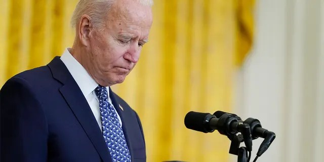 President Biden speaks during an event to celebrate labor unions, in the East Room of the White House, Wednesday, Sept. 8, 2021, in Washington. (AP Photo/Evan Vucci)